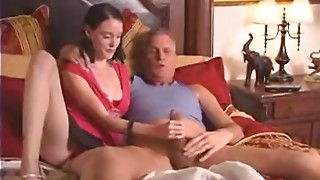 Daughter acquires slutty when her daddy sees porn and copulates her