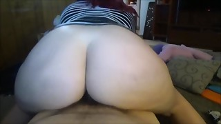 MILF With Large A-hole Rides Jock