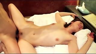 Japanese gal Drilled by 2 jocks