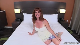 Nice-looking Redhead Milf Bonks Large Dong POV