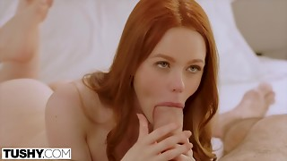 TUSHY Wife Cheats On Business Travel With Anal sex
