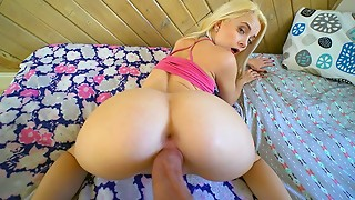 PropertySex - Hawt diminutive blond young slut needs place to stay