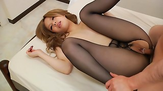 Lewd Hose Office Lady Can't Await Fucking her Boss
