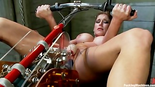Felony has a actually large & intensive climax with Fucking Machine