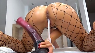 Petite Teenie pounded with biggest horse knob - creampie - Solo CarryLight
