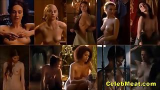 Priceless Celebrity Tit Bouncing Compilation Loop