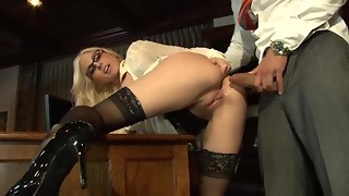 Anal-copulation Screw - Nylons - 1