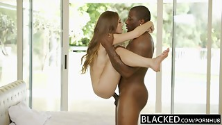 BLACKED Small Juvenile Cutie Skye West 1st Interracial