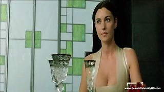 Monica Bellucci in nature's garb scenes
