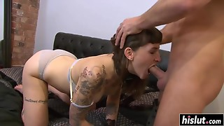Inked Punk Tart Acquires Throated