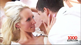 Suited Cougar Office Sex