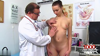Nice-looking Cuties Comes To Medical Exam