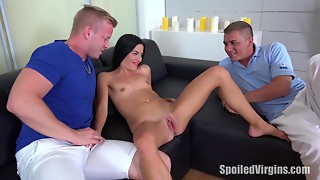 Spoiled  Dorothy can't live without getting her cum-hole