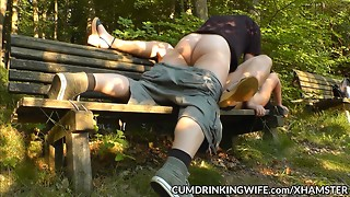 Slutwife Marion gang team-fucked by a lot of males anew