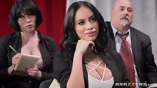 Горячая мисс Sexy Mic Victoria June Johnny Sins