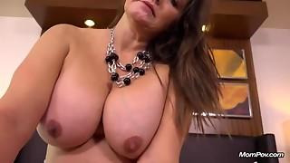 Breasty mother pov hardcore
