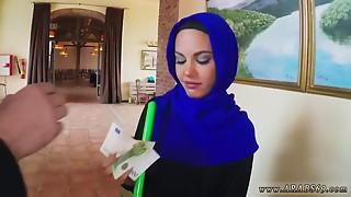 Arab young slut sucks yummy dong