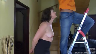 Musculed Repair Chap Pounds Lewd Obese Old bitch