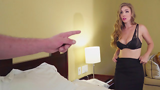 Big breasted Lena Paul hotly positions in darksome underware previous to fucking