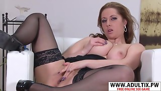 Favourable Step-Mama Daria Glower Have Intercourse Nice Delicate Dad's Ally