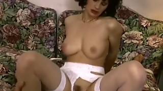 Dark brown Housewife In Hawt Underware Bedroom Drilled