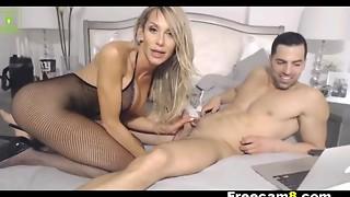 Nasty Slut Blowing Knob Enjoyment