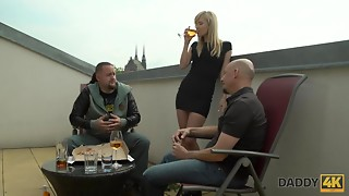 DADDY4K. Dad and coed hotty have fantastic lovemaking...