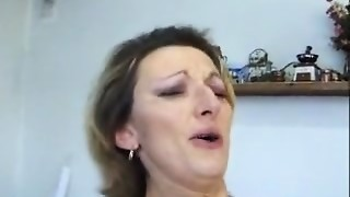dissolute talking french housewife enjoys to be a-hole pounded