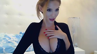 Plastic Megazord: silicone scoops blond bitch on livecam