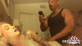 Tattoo porn actress interracial with fellow milk on wet crack