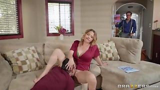 A midst elder hawt housewife Krissy hooks up with a younger man