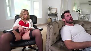 JulesJordan - Rachael Cavalli Big-Breasted Cougar Needs A Precious Hard Pounding