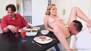 Eager Bawdy cleft Licking Scene From Popular Brazzers Studio