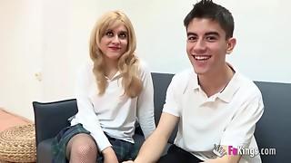 FAKings School. Uncle, I love Madrid and Jordi's knob