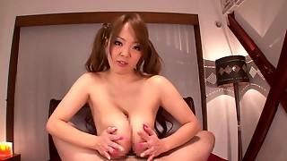 Japanese with biggest scones tit fucking