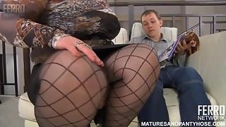 Chubby sexy mother I'd like to fuck covets to sissy juvenile stud and seduces him