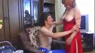 Ginger MILF Veronika Caricina likes to receive drilled by juvenile fuckers