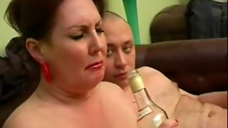 Drunk Russian old drilled