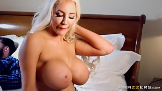 Large Mamma Sucks Massive Knob At The Brazzers Not My Brother's Keeper