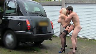 Cab driver Rebecca Greater amount enjoyed real hardcore bonk with passenger