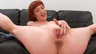 Alexa Nova erects large wang with blow job and bows over