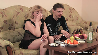 DRUNK RUSSIAN Elder MARINA sc 1