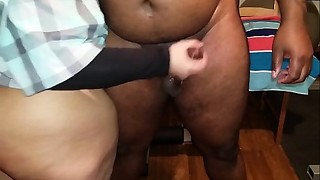 My boss could'_t keep his weenie in my ass, his load was oozing in me and it was..