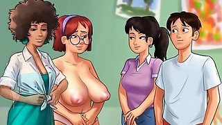 Summertime Saga[v0.18.5] - ALL SEX SCENES IN THE GAME - Biggest Hentai, Toon porn..