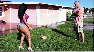 BANGBROS - Latin chick Rose Monroe&#039_s Large Butt Bouncing On Sean Lawless&#039_s..