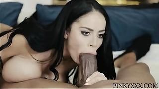 Victoria June Latin babe Interracial Huge black meat Bang