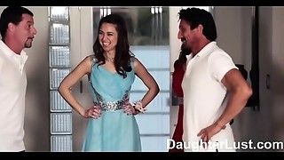 Fathers Trade Virgin Daughters on Prom Night  |DaughterLust.com
