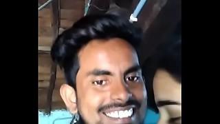 Telugu jagityal paramours nagalaxmi and mantri maahesh kisses
