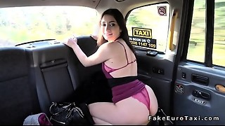 Fake taxi driver arse stab copulates dark brown