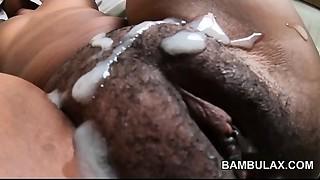 Homemade interracial Creampie